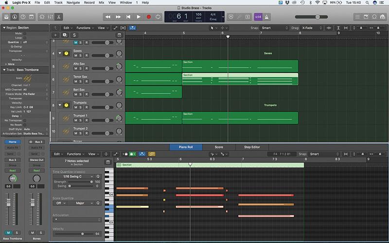 Studio Horns in Logic Pro X - Step 13