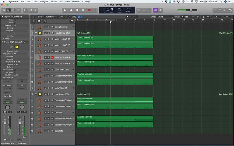Mastering the new Studio Strings In Logic Pro X - Step 14
