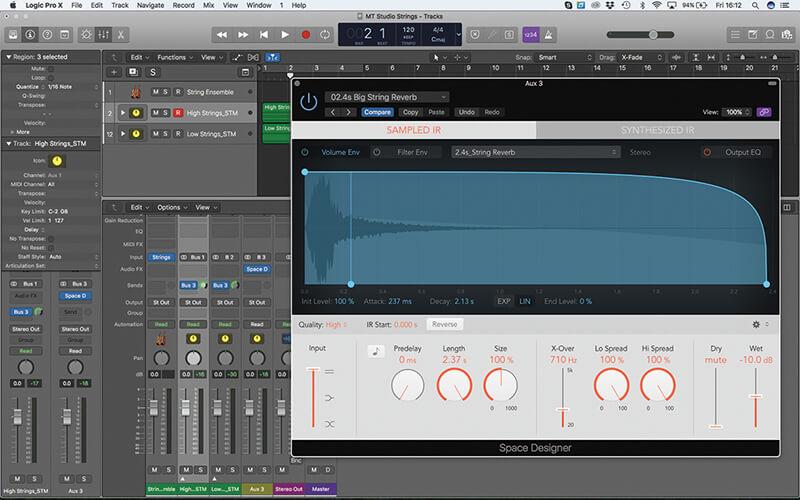 Mastering the new Studio Strings In Logic Pro X - Step 17