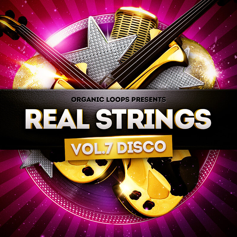6 of the Best House Music Samples - Organic Loops Real Strings Vol. 7 Disco