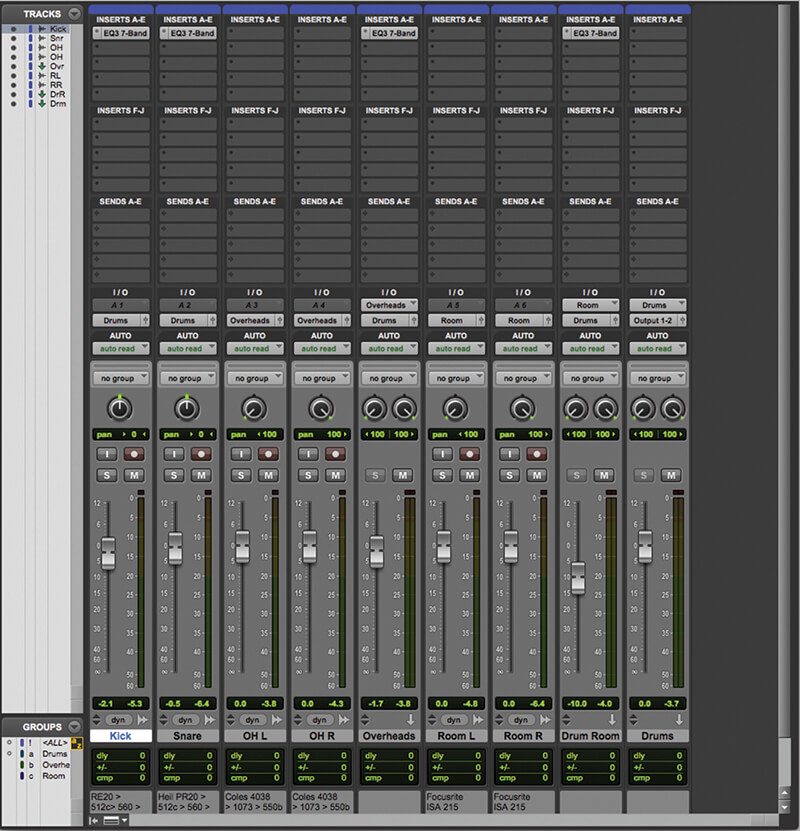 Pro Series Plug-ins in Pro Tools - Step 2