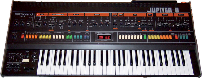 10 Synths That Made Synth Pop - Roland Jupiter-8