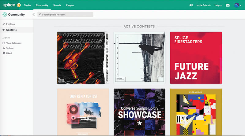 Make Music Online - Splice.com 2