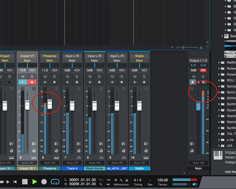 How to mix your Track in Studio One 4 - Step 1