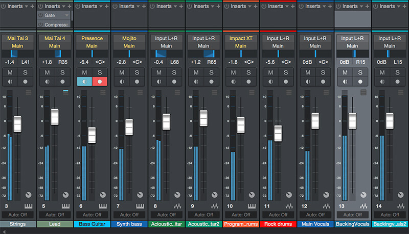 How to mix your Track in Studio One 4 - Step 3