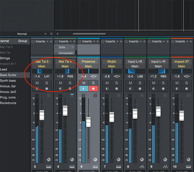 How to mix your Track in Studio One 4 - Step 6