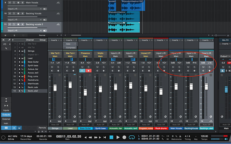 How to mix your Track in Studio One 4 - Step 7