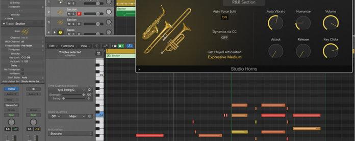 Studio Horns in Logic Pro X - Featured Image