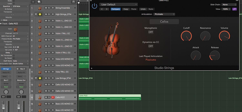 Mastering the new Studio Strings in Logic Pro X | MusicTech