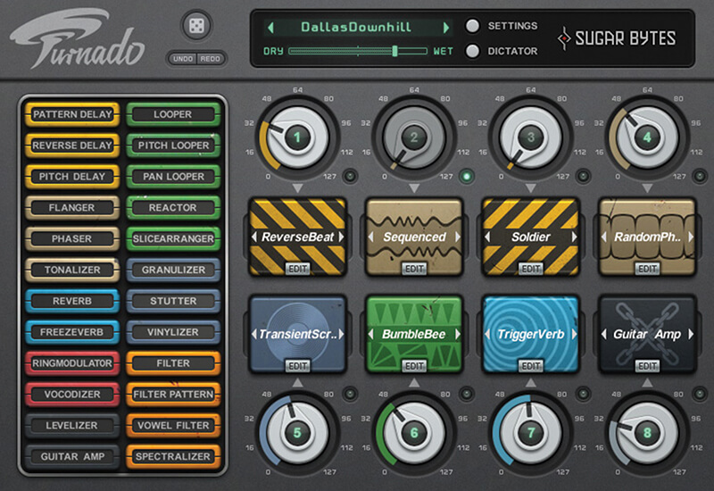 Top 5 Software FX for Sound Design - Sugar Bytes Turnado