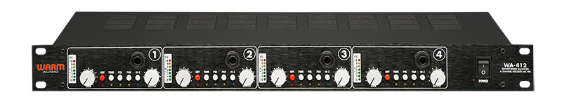 Warm Audio WA-412 - Front Panel