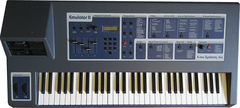 10 Synths That Made Synth Pop - E-mu Emulator II