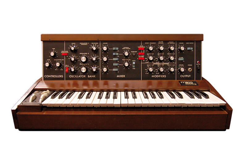 10 Synths That Made Synth Pop - MiniMoog