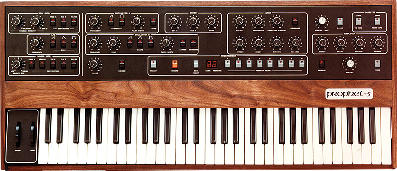 10 Synths That Made Synth Pop - Sequential Circuits Prophet-5