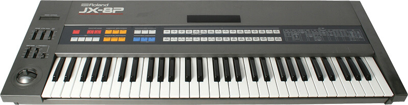 10 Synths That Made Synth Pop - Roland JX-8P