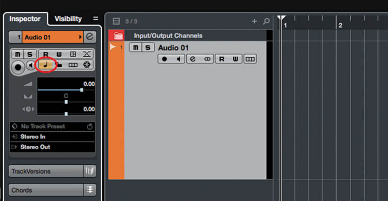 Exploring Time and Pitch in Cubase 9.5 - Step 1