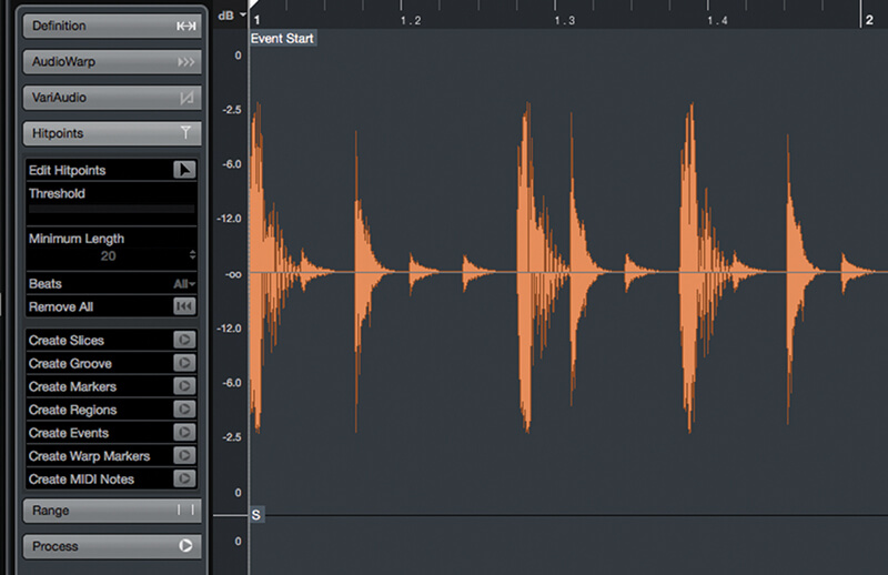 Exploring Time and Pitch in Cubase 9.5 - Step 3