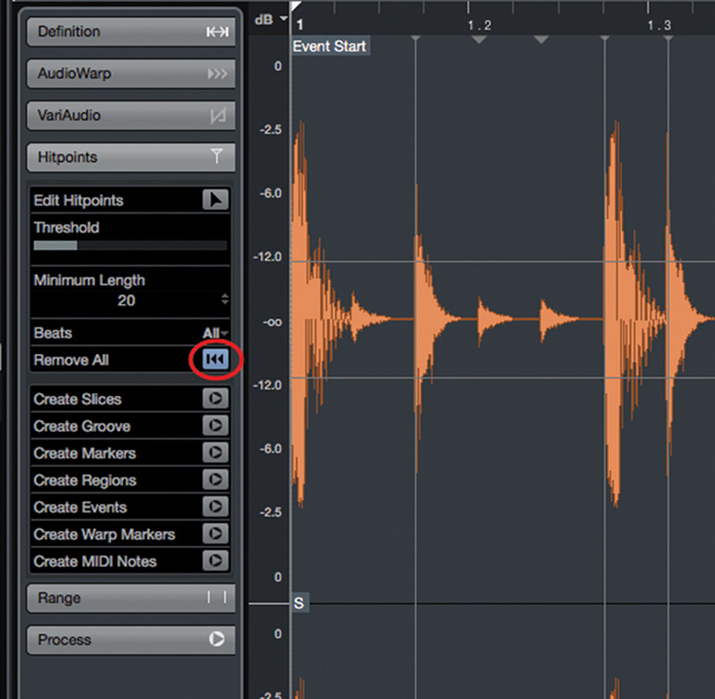 Exploring Time and Pitch in Cubase 9.5 - Step 5