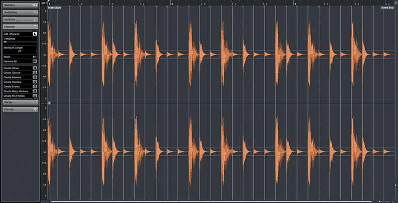 Exploring Time and Pitch in Cubase 9.5 - Step 6