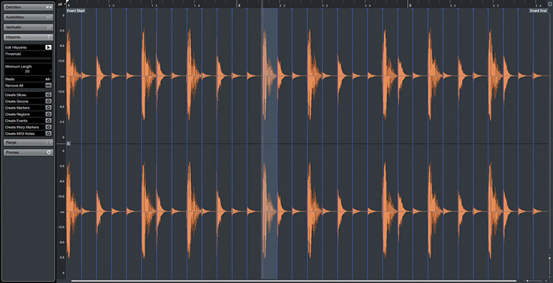 Exploring Time and Pitch in Cubase 9.5 - Step 8