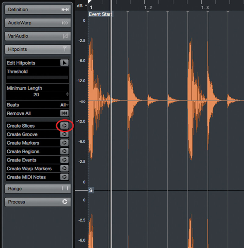 Exploring Time and Pitch in Cubase 9.5 - Step 9