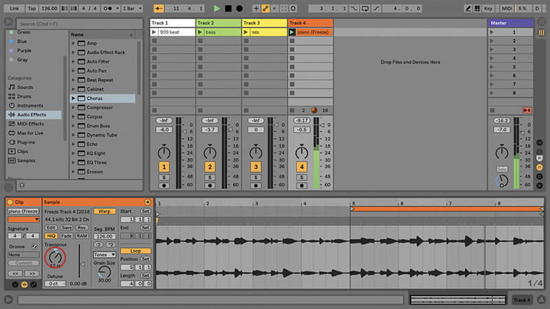 Using the New Drum Buss in Ableton Live - Step 14