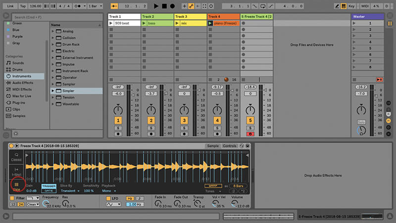 Using the New Drum Buss in Ableton Live - Step 15