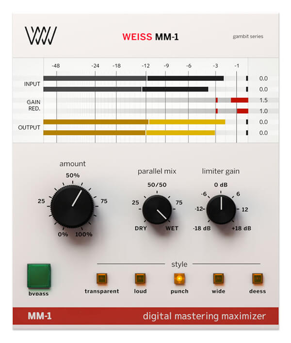 Top 5 Mastering Plugins - Weiss MM-1