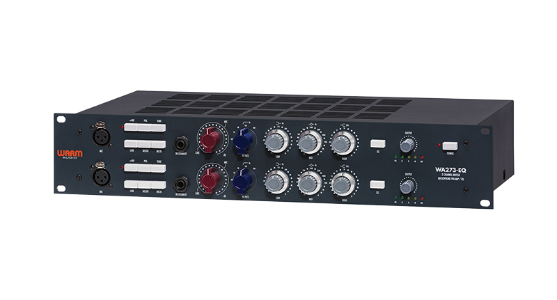 Warm Audio WA273-EQ Review - Excellent all-round microphone preamp