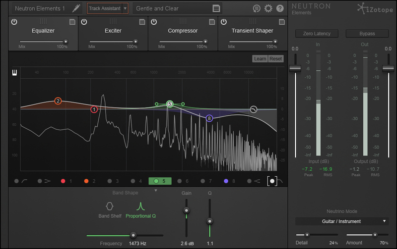 Get iZotope Neutron Elements for free with any Plugin Boutique