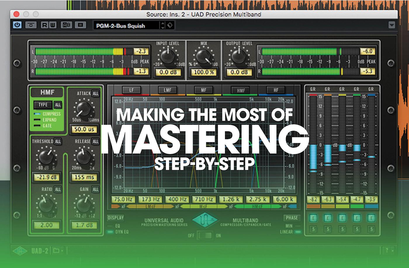 Mastering Tutorial, step-by-step
