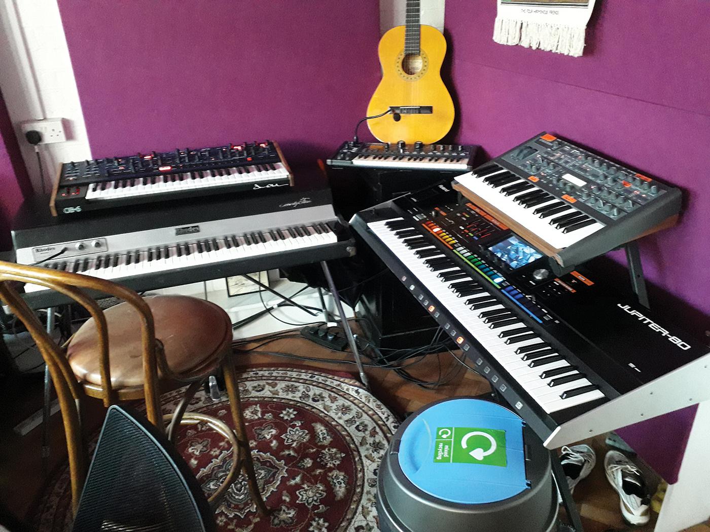 Rudimental's studio