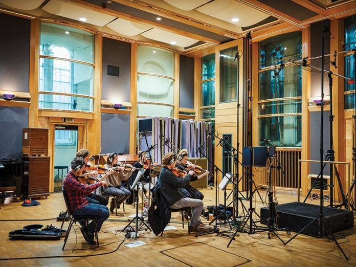 Spitfire Audio Studio Strings sessions