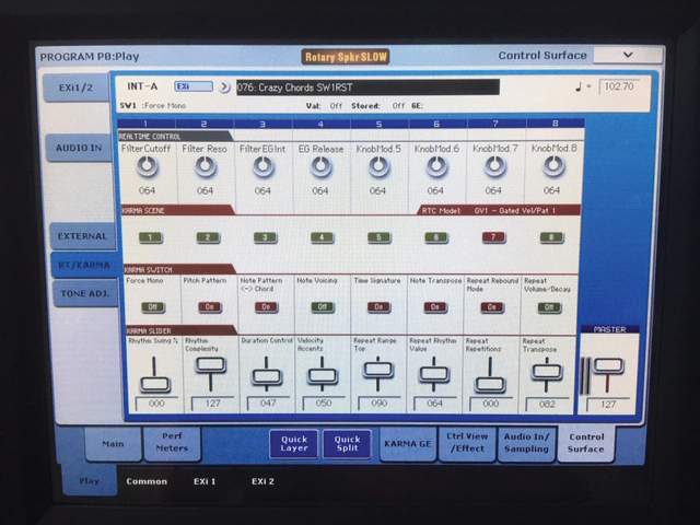 Kroog KRONOS 88 LS 6 Control Surface