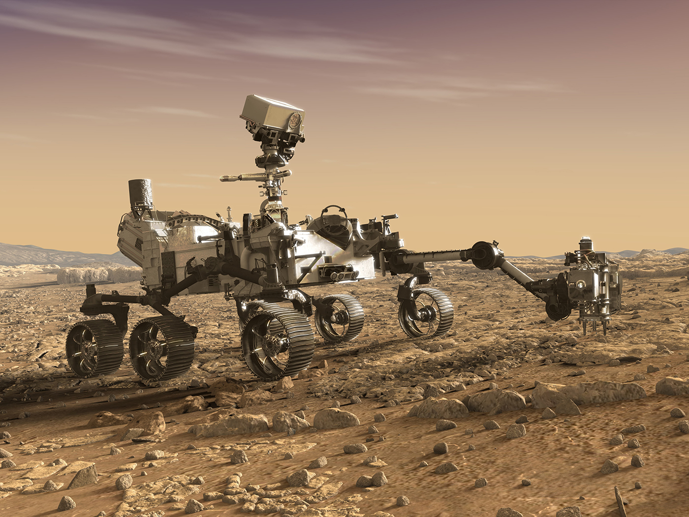 DPA Microphones mars rover 2020