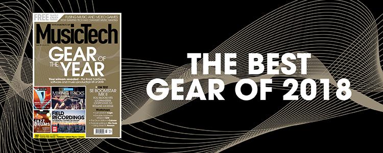 MusicTech 190 Gear of the year 2018