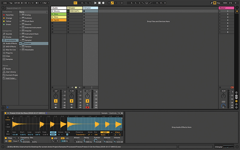Simpler Ableton Live tutorial 10
