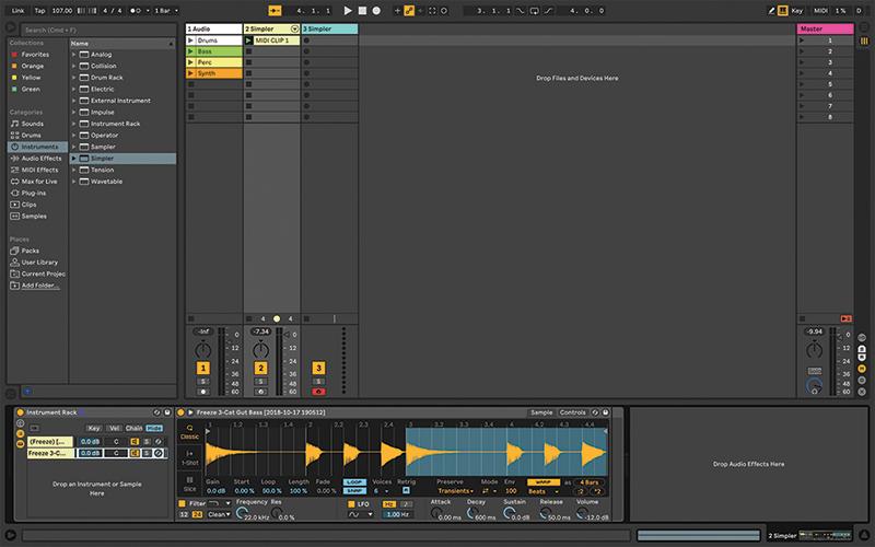 Simpler Ableton Live tutorial 12