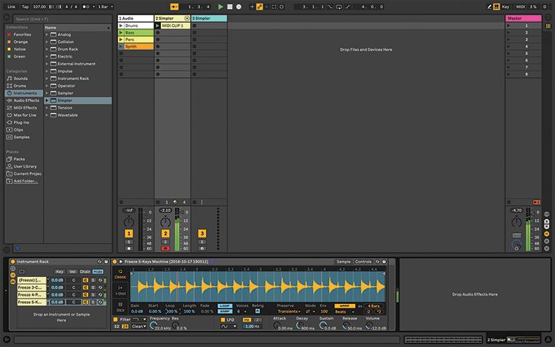 Simpler Ableton Live tutorial 14