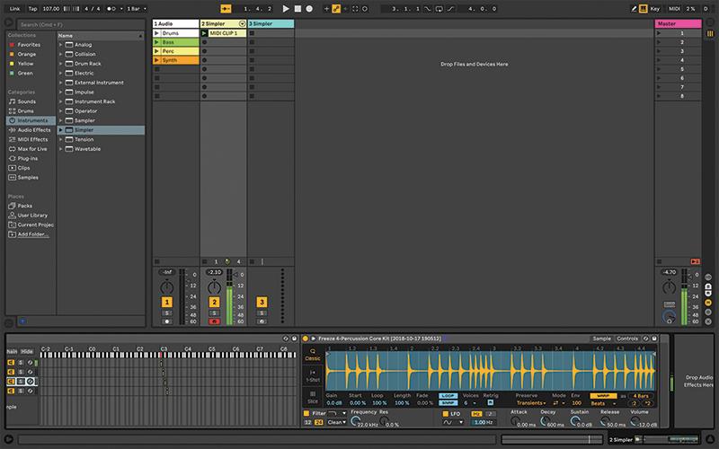 Simpler Ableton Live tutorial 16