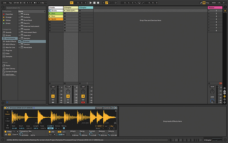 Getting the Best from Simpler in Ableton Live: A Step-by