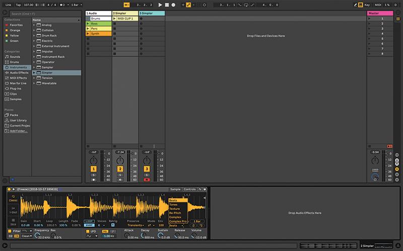 Simpler Ableton Live tutorial 4
