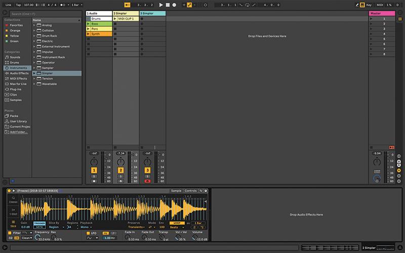 Simpler Ableton Live tutorial 6