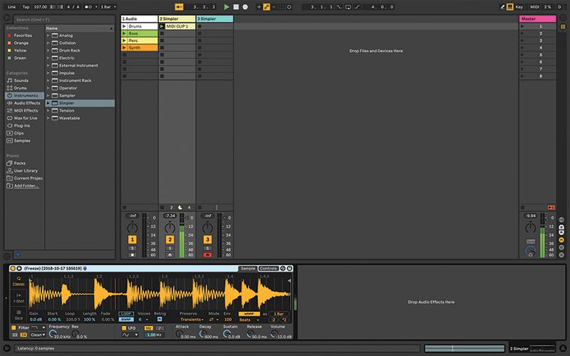 Simpler Ableton Live tutorial 8