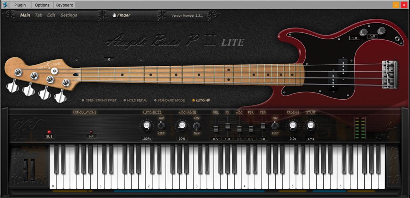 Ample Bass Precision Lite