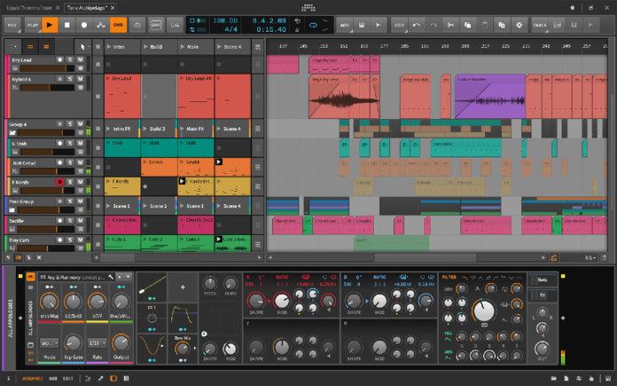 Bitwig studio 2.5