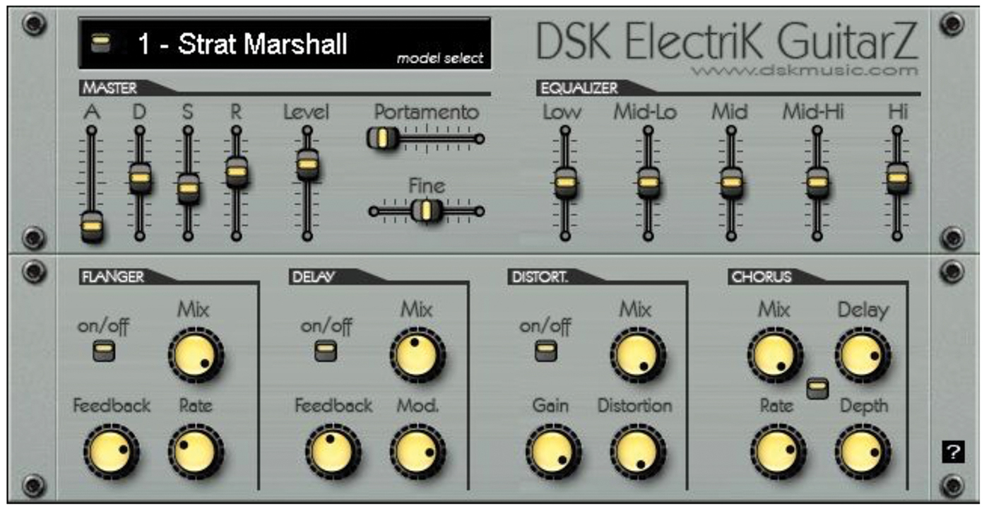 DSK Electrick Guitarz