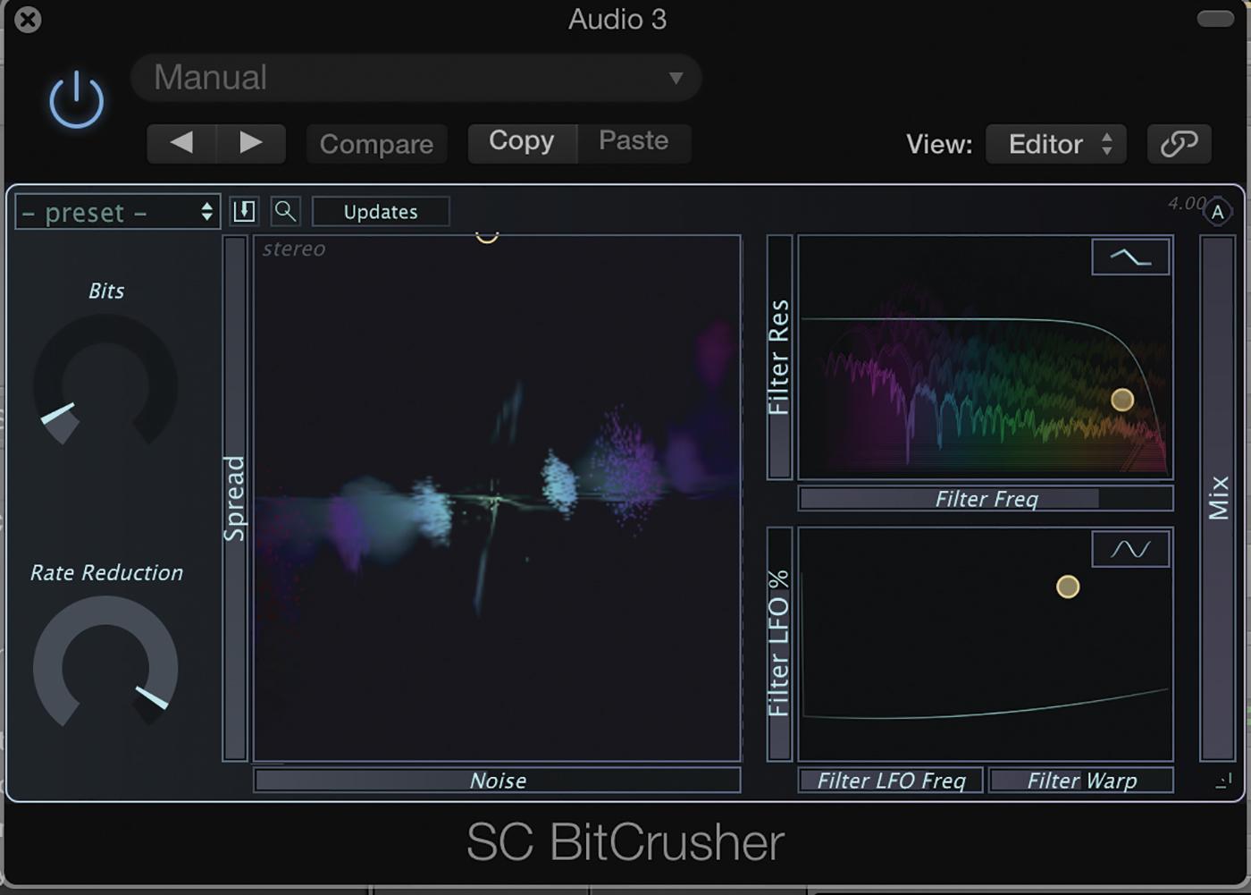 Stagecraft Software bitcrusher