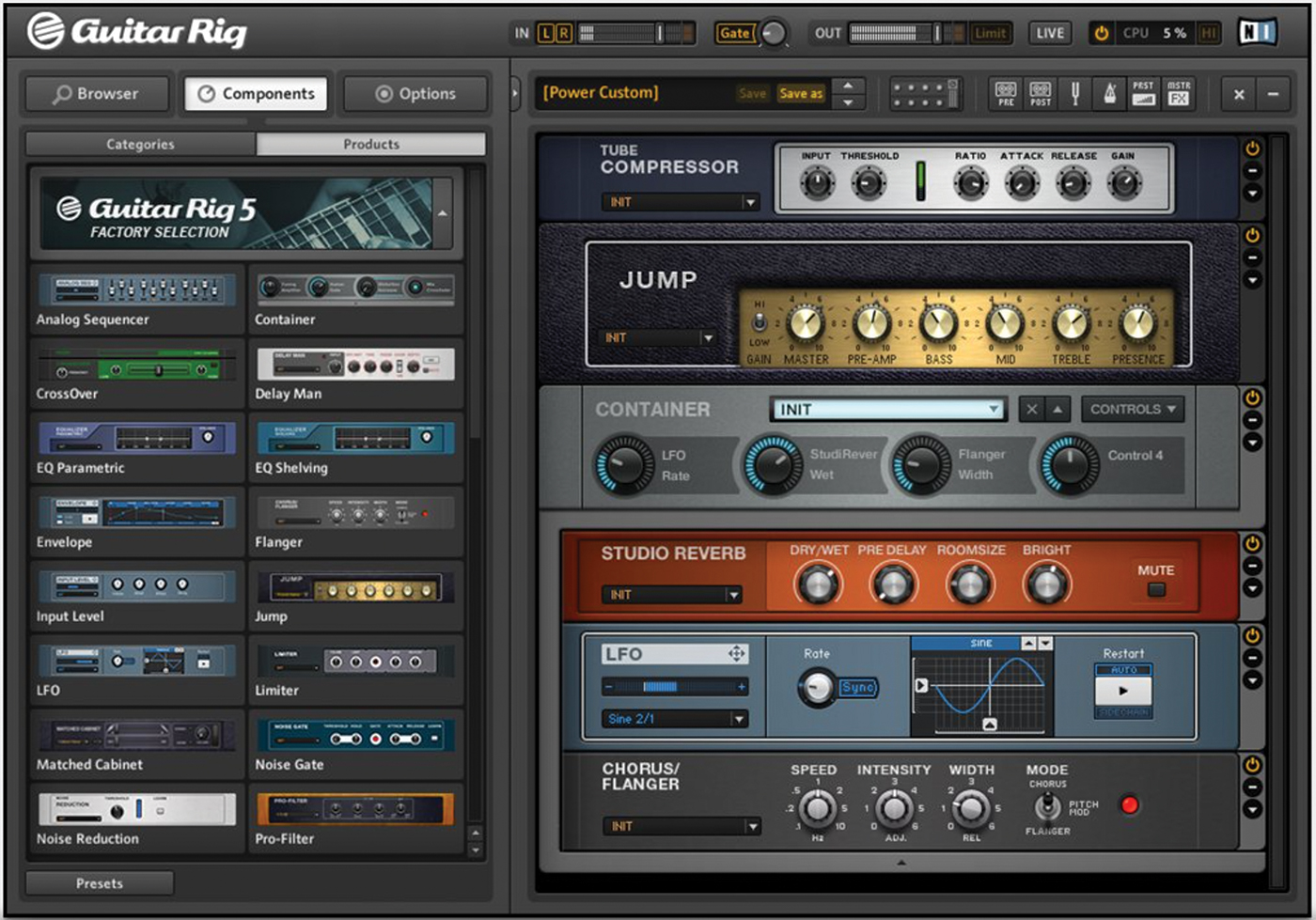 Guitar Rig Player 5