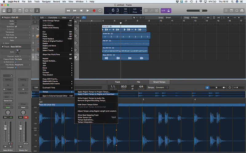 Smart Tempo in Logic Pro X: A Step-by-Step Guide